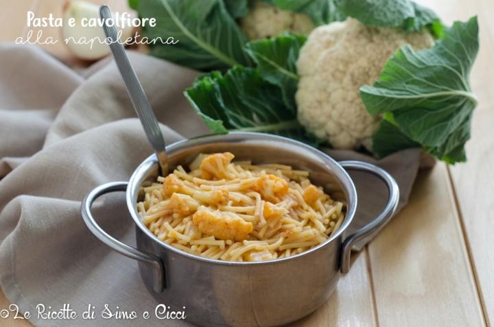 Pasta e cavolfiore alla napoletana
