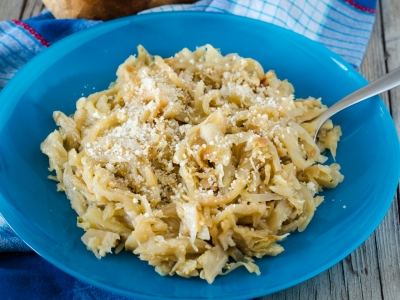 Finocchi al parmigiano in padella