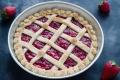 Vegan strawberry pie senza burro