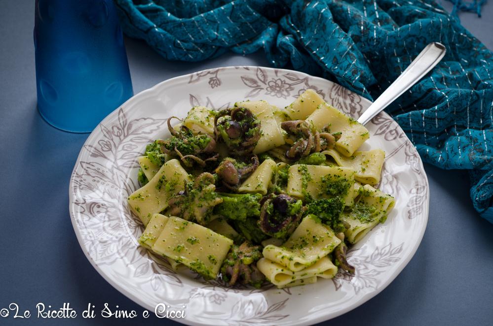 Calamarata con Broccoletti e Moscardini