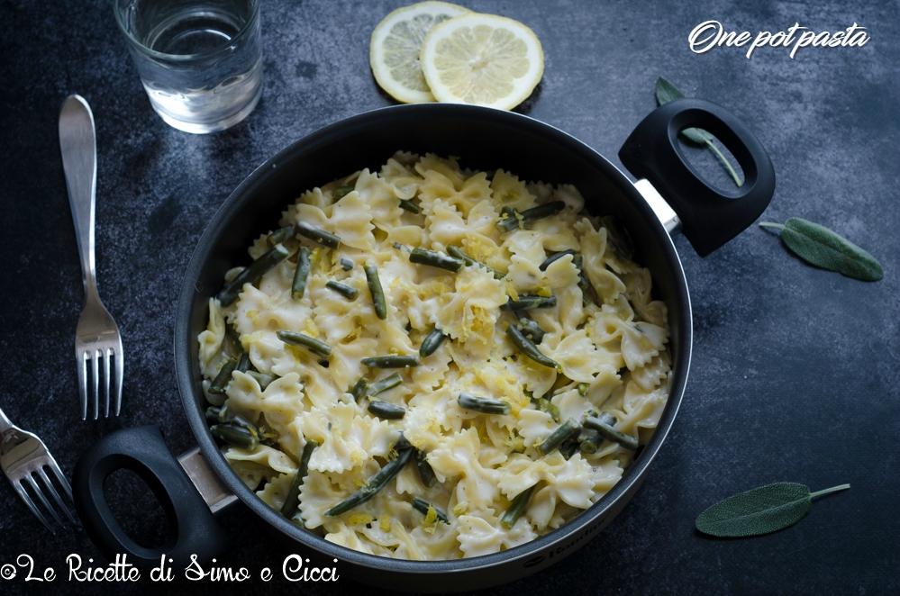 One pot pasta al limone