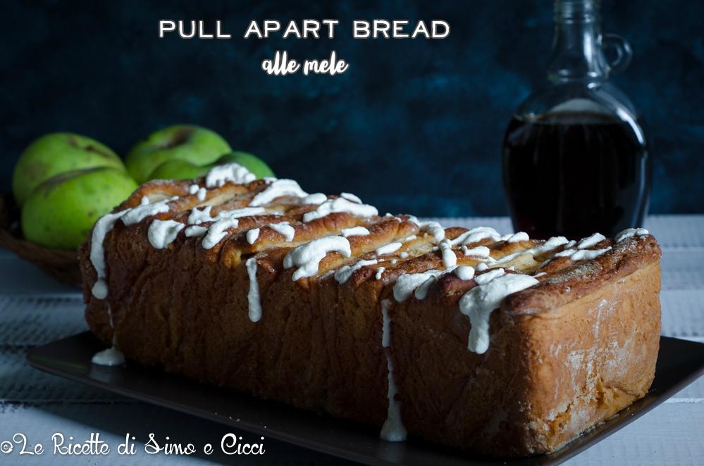 Pull apart bread alle mele