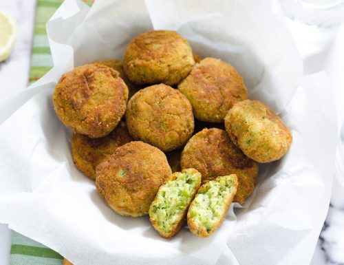 Polpette di broccoli e philadelphia
