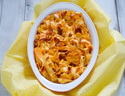 Pasta al forno salmone e philadelphia