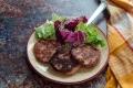 Hamburger di prosciutto cotto