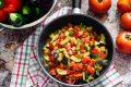 Ratatouille di verdure, ricetta francese