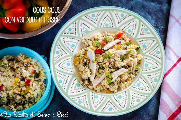 Cous cous con verdure e pesce