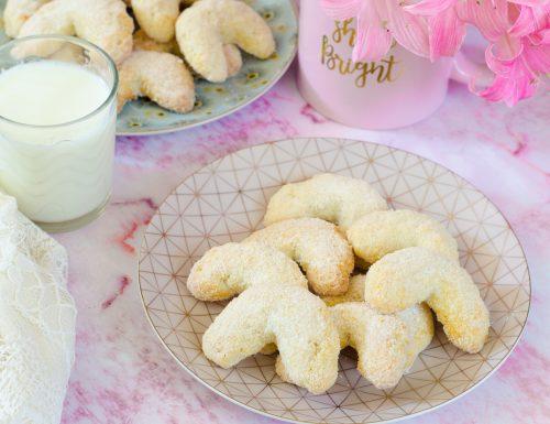 Cornetti alla vaniglia, Vanillekipferl