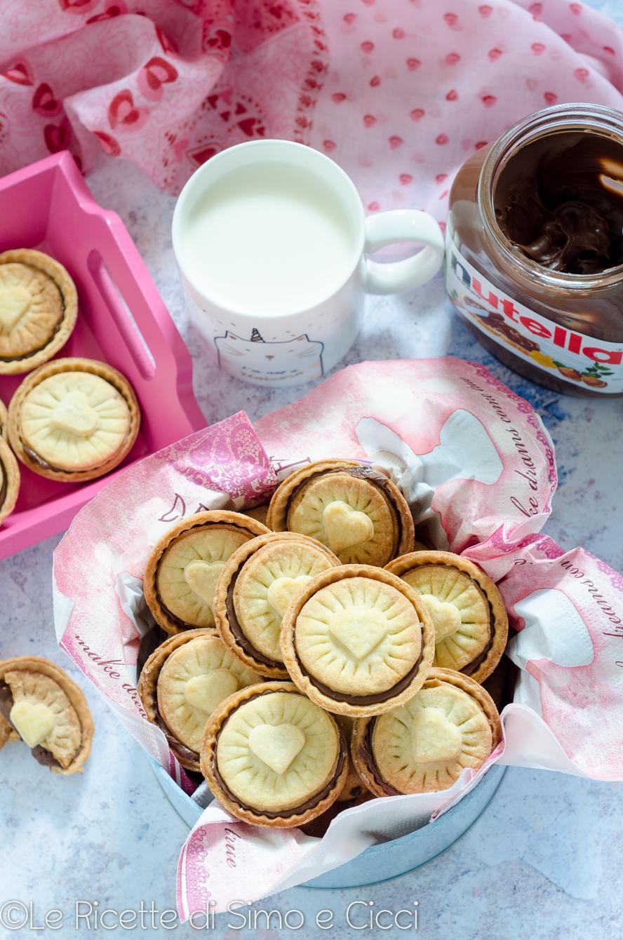 Nutella biscuits ricetta