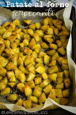 patate in teglia condite con olio e aromi