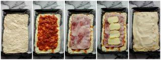Pizza parigina procedimento