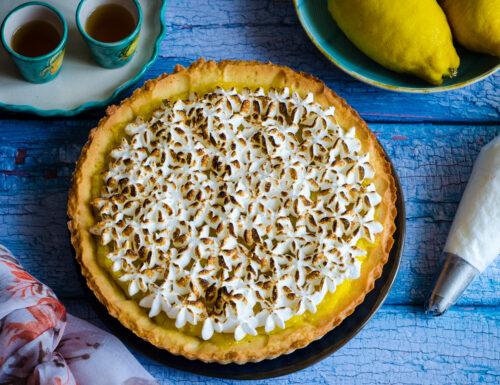 Crostata meringata al limone – Lemon meringue tart