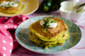 Pancake di zucchine facili e veloci