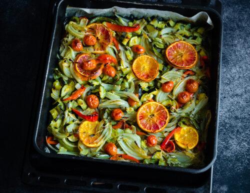 Verdure al forno croccanti, facili e veloci