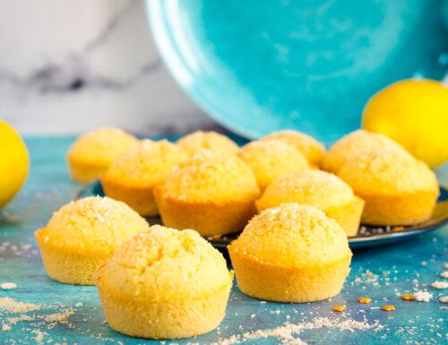 Muffin cocco e limone