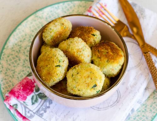 Polpette zucchine e ricotta