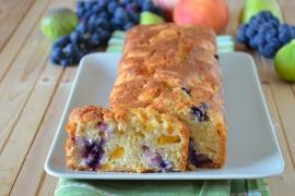 Plumcake con frutta mista senza burro