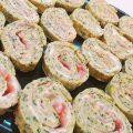 Rotolo di zucchine ripieno di salmone