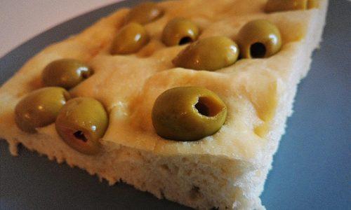 Focaccia alle olive