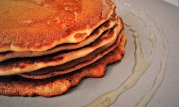 Pancake con sciroppo d'agave