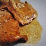 Cuore di maiale in padella