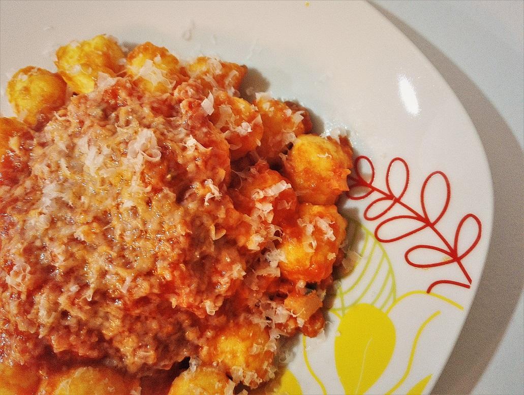Gnocchi all'aglio