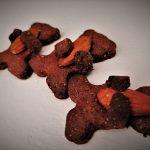 Biscotti orsetto al cacao senza uova