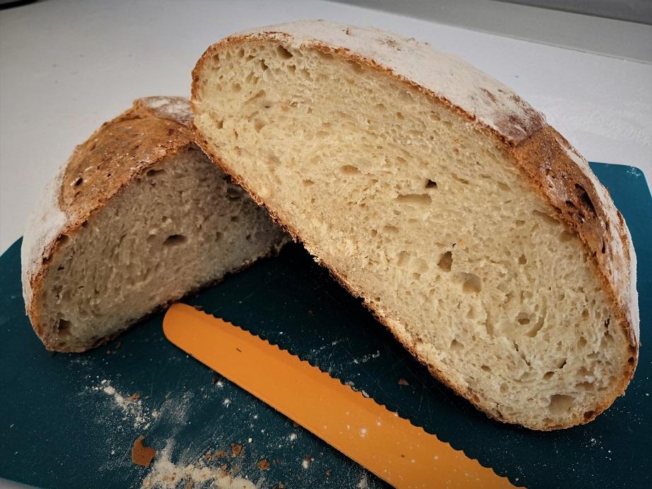 Pane con semola rimacinata di grano duro - Ricetta con Li.Co.Li.