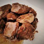 Spezzatino di maiale brasato