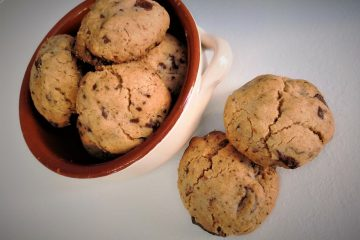 American cookies senza uova