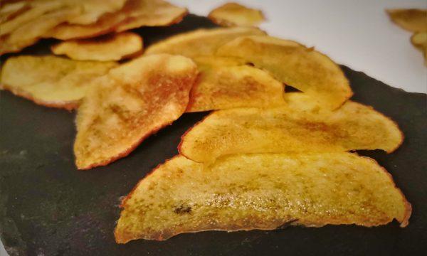 Patatine croccanti al microonde