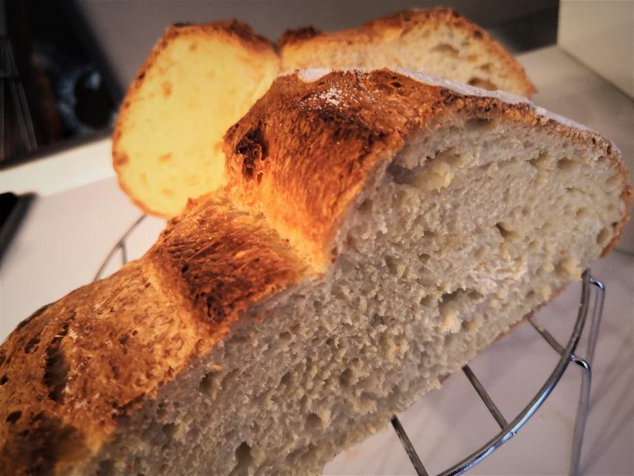 Pagnotta con farina di grano duro e licoli