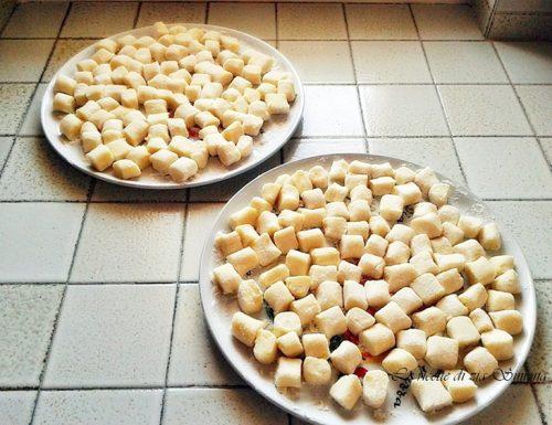 Gnocchi di patate (con e senza glutine)