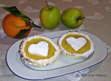 Crostatine di mele veloci (con e senza glutine)