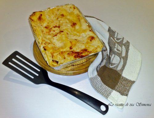 Lasagne scamorza e cotto (con e senza glutine)