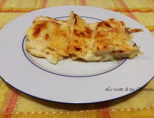 Lasagne cavolfiore e mozzarella (con e senza glutine)