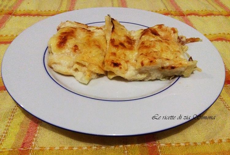 lasagne cavolfiore e mozzarella