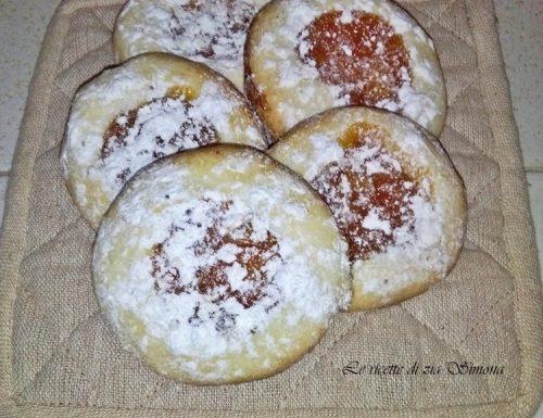 Occhi di bue alla marmellata veloce di madarino (con e senza glutine)