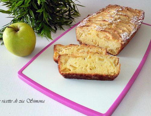 Plumcake arancia e mele con farina di riso senza burro e olio