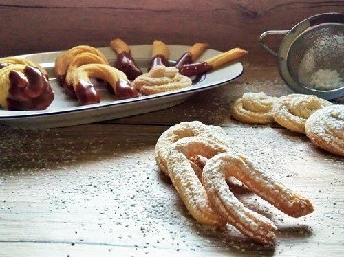 Biscotti con frolla montata (con e senza glutine)