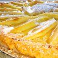 crostata crema pasticcera e mele con e senza glutine