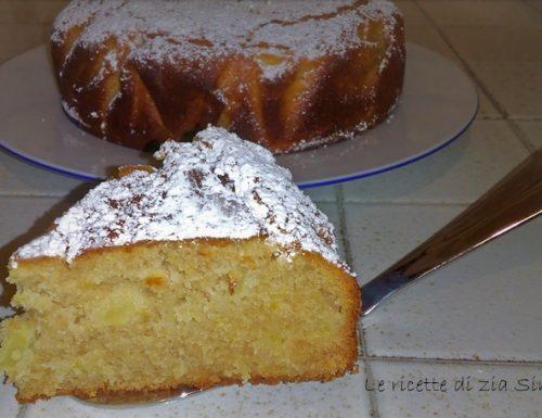Torta ricotta mele e cioccolato al latte (con e senza glutine)