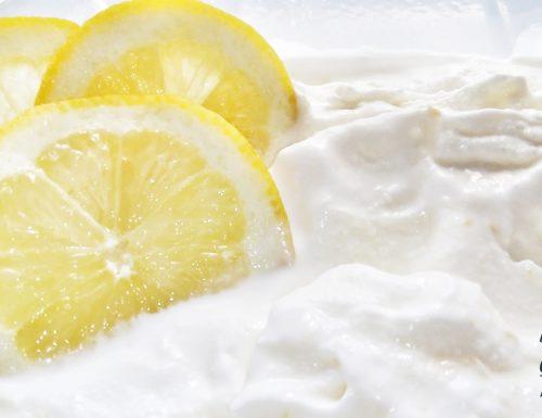 Gelato al limone ricetta veloce con e senza gelatiera
