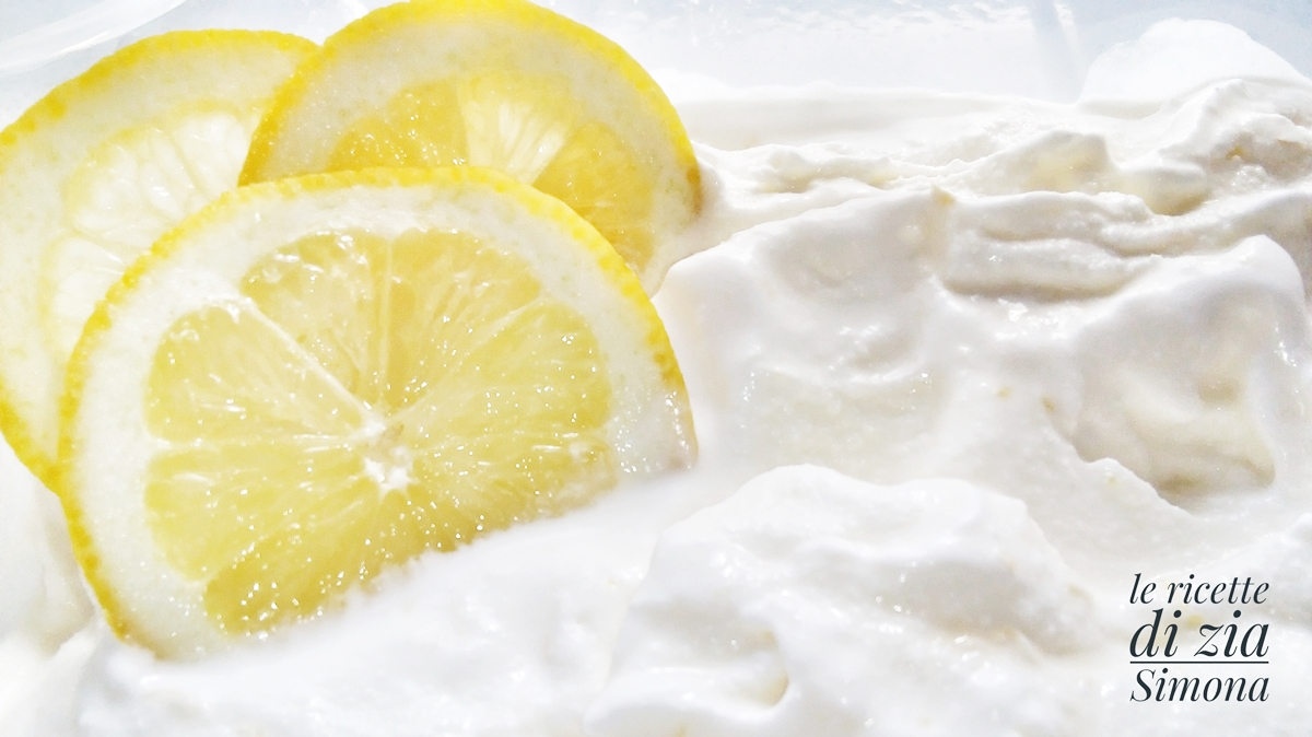 gelato al limone ricetta veloce