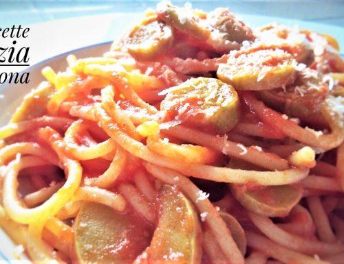 Spaghetti pomodoro e zucchine light con e senza glutine