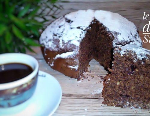 Torta caffè cioccolato e nocciole