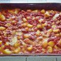 gnocchi al forno pomodoro e mozzarella