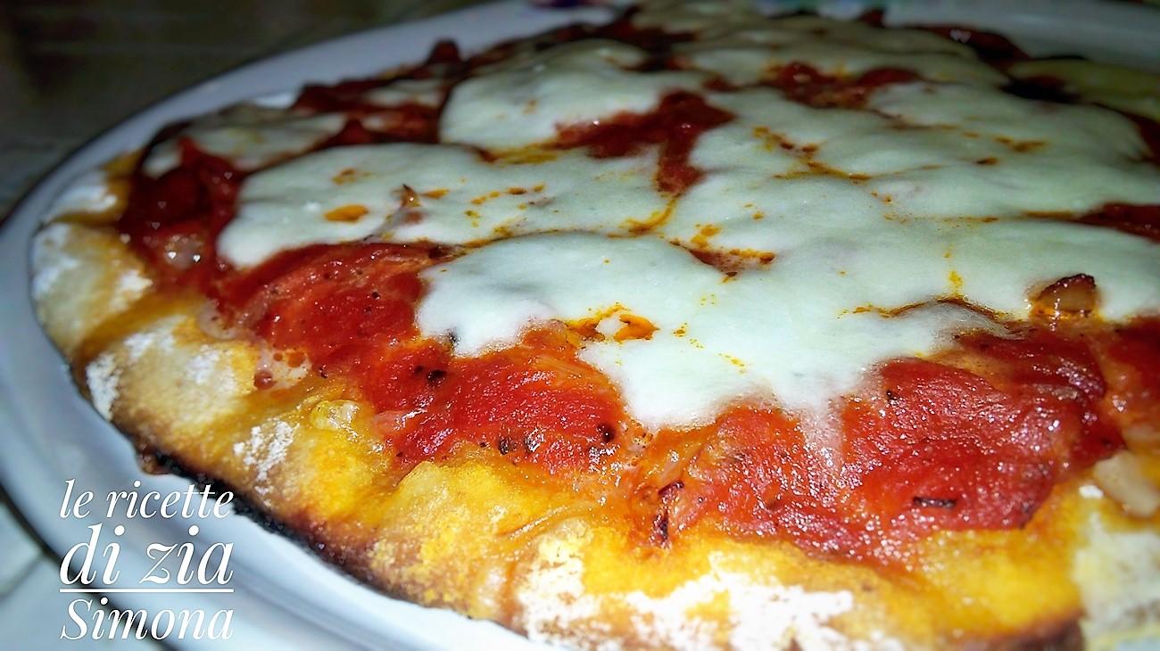 pizza margherita con e senza glutine