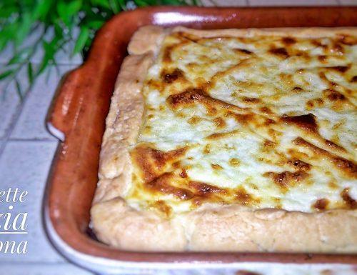 Torta cavolfiore salsiccia e besciamella