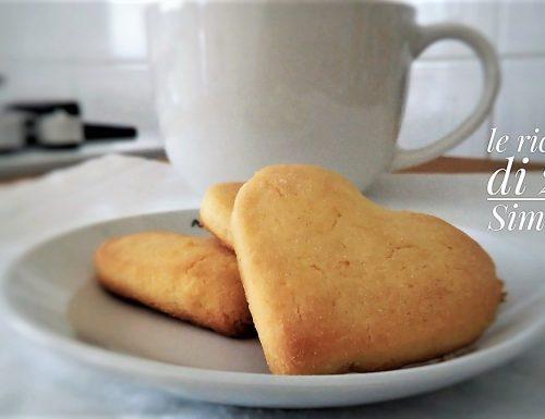 Biscotti allo yogurt pronti in 5 minuti